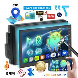 android 9 1 double din car stereo