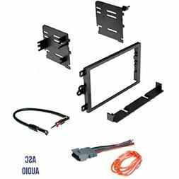 Audio Car Stereo Dash Kit, Wire Harness, And Antenna Adapter