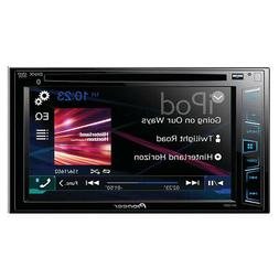 "Pioneer AVH-280BT 6.2"" DVD Receiver Double-DIN In-Dash with"