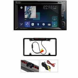 "AVH-500EX 6.2"" Double-DIN In-Dash DVD Receiver with Bluetoot"