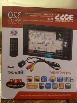 "Boss BVNV9384RC Double DIN Navigation Receiver w/ 6.2"" Touch"
