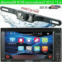 "Blaupunkt Car Audio Double Din 6.2"" Touchscreen DVD Bluetoot"