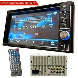 SoundXtreme 2 Din DVD Bluetooth Receiver with DVD/CD/MP3/FM/