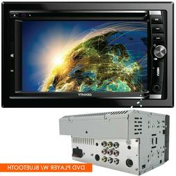 Gravity Car Audio DVD Stereo Double DIN Touch Screen CD Play