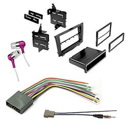 CAR CD Stereo Receiver Dash Install MOUNTING KIT + Wire Harn