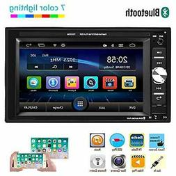 Car Multimedia InDash DVD & Video Receivers Player - Double