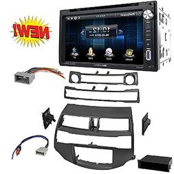 Car Radio Stereo Install Dash Kit Harness Antenna for 2008-2