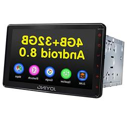 JOYING Car Stereo 4GB + 32GB Octa Core 8 inch Double Din wit
