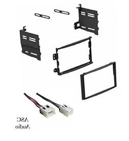 ASC Car Stereo Dash Install Kit and Wire Harness for Install
