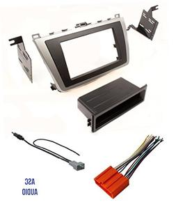 ASC Car Stereo Dash Install Kit, Wire Harness, and Antenna A