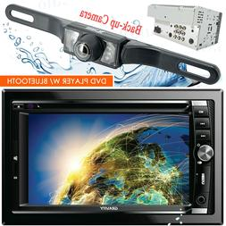 Gravity Car Stereo Double DIN Touch DVD/CD Player AM/FM with