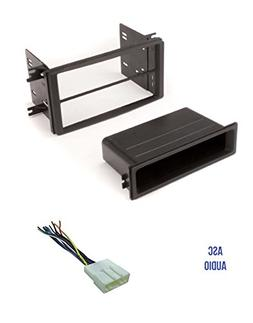 ASC Car Stereo Install Dash Kit and Wire Harness for install
