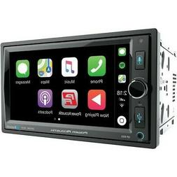 "Power Acoustik CP-650 Black 6.5"" In-Dash Double-DIN Digital"