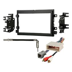 Metra 95-5812 Dash Kit + Amp Harness + Antenna Adapter for S