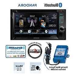 "Kenwood DDX372BT In Dash Double Din 6.2"" DVD Receiver with P"
