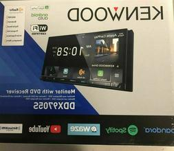 """Kenwood DDX9705S Double-DIN 6.95"""" Android Auto/Apple CarPlay"""