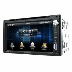 "NEW 2017 SOUNDSTREAM 2-DIN 6.2"" TOUCHSCREEN CD DVD BLUETOOTH"
