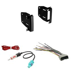Scosche CR1291B Double DIN Install Dash Kit for Select 07-up