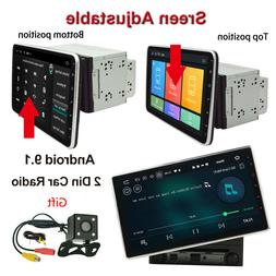 Double 2 Din 10.1inch Android 9.1 In Dash Car Radio Stereo G