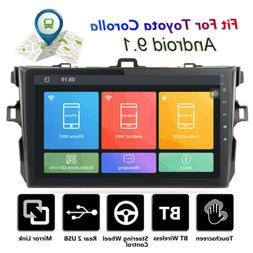 Double 2 Din Android 9.1 Car Stereo 9 Inch  For Toyota Corol