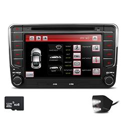 XTRONS Double 2 DIN 7 Inches HD Touchscreen Car Stereo DVD G