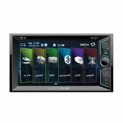 "NEW Soundstream Double 2 DIN VR-63B DVD/CD/MP3 Player 6.2"" L"