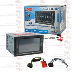 NEW Soundstream Double 2 DIN VR-63XB DVD/CD/MP3 Player Bluet