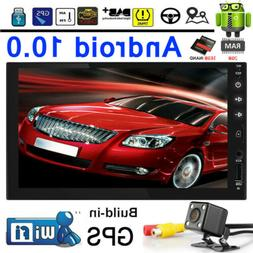 "Double 2Din Andorid8.1 7"" Car Stereo Radio Player GPS Navi B"