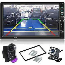 Double Car Video Din Touch Screen Stereo 7&rsquo&rsquoLCD Ra