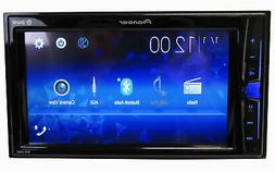 "Pioneer Double DIN 6.2"" WVGA Touchscreen Bluetooth Digital M"