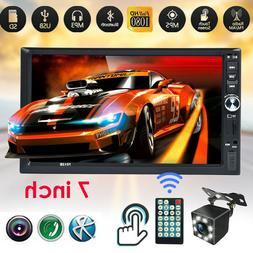 "Double DIN 7"" HD Touch Screen Car Stereo Radio MP5 FM Player"