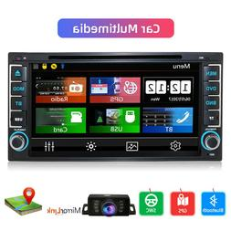 "Double Din 7"" Touch Screen Android 10.0 Car Stereo Radio GPS"