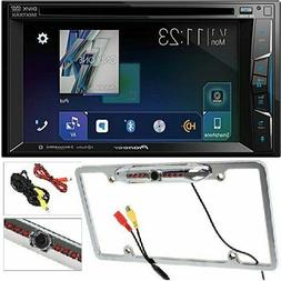 Pioneer Double DIN Apple CarPlay In-Dash Car Stereo Receiver