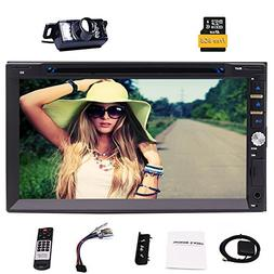 Eincar Double Din Car Stereo With 7.0 Inch 800480 HD Capacit