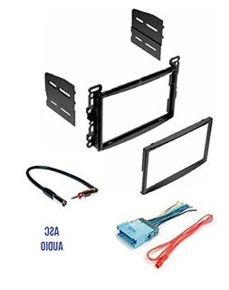 double din car stereo dash