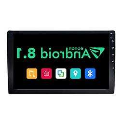 Double Din Car Stereo, Android 8.1 Car Radio Stereo Audio Eo