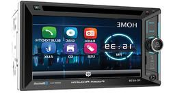 "POWER ACOUSTIK DOUBLE DIN CD DVD 2DIN IN-DASH 6.5"" BLUETOOTH"