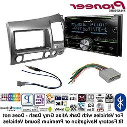 Pioneer Double DIN CD Receiver Built-in Bluetooth, and Siriu