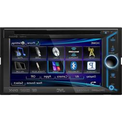 "JVC Double DIN In-Dash 6.1"" Bluetooth AM/FM/CD/MP3/DVD/USB L"
