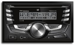 Double-DIN In-Dash CD AM/FM/MP3 Receiver with Bluetooth