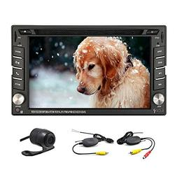 6.2 inch Double DIN GPS Navigation for Universal Car Free Wi