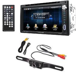 Soundstream Double DIN Multimedia Source Unit with 6.5″ LC