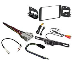 Metra 95-3003G Double DIN Stereo Installation Dash Kit Chevy