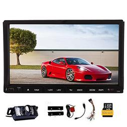 Double Din Universal in Dash HD Touch Screen 7inch Car DVD P
