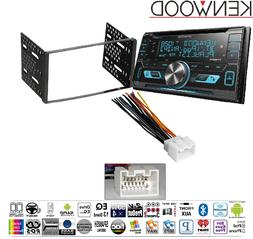 Kenwood DPX503BT Double DIN CD Bluetooth SiriusXM Car Stereo