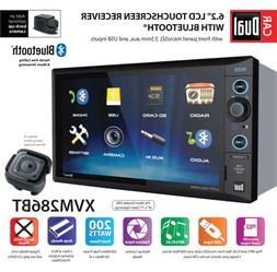 Electronics XVM286BT 6.2 inch LED LCD Multimedia Touch Scree