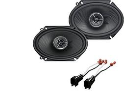 Kenwood Excelon KFC-X683C 6x8 inch 2-Way Custom Fit Speaker