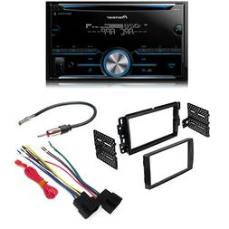 Pioneer FH-S500BT Double DIN Bluetooth w/ Car Radio Stereo 2