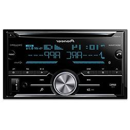 Pioneer FH-X830BHS Double Din CD Receiver with Built-In Blue