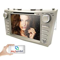 "hizpo In Dash CAR DVD Player Double Din 8"" Touch Screen GPS"